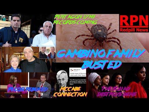 Red Pill News - Clinton Connected Mafia Family FBI Raid