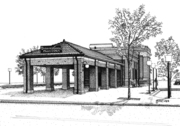 Downers Grove Main Street RR Station