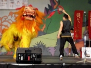 1st Lion Dance