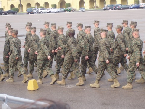 Sammie in Boot Camp
