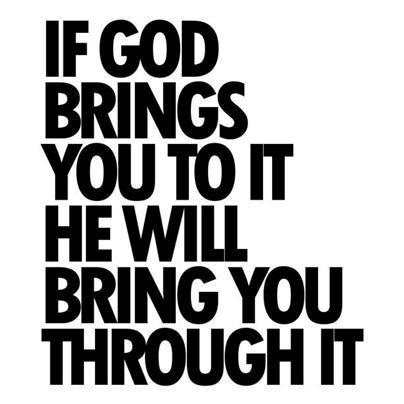 God Through It!