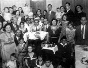 judio5Familia judíos- celebración de la circunsición, parte del cilco vital