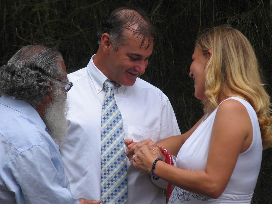 Our Aboriginal Wedding Ceremony