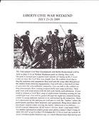 Liberty Civil War weekend 143rd Re-enactment