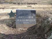 20th NY Co. E Champagne, Louis 1827-1898