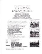 Civil War Encampment @ The Bevier House
