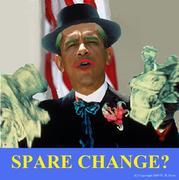 Obama Spare Change?