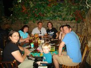 At the Rain Forrest Cafe in Orlando