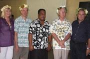 Launching of Banaban Rehabilitation Scheme to Banaban Elders Rabi Oct 2008