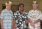 Gordon Atkinson, Teatu Rewi, Peter Crowley Banaban Elders Day Rabi Oct 2008