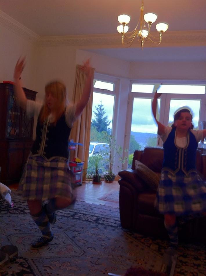 Scottish Dance!