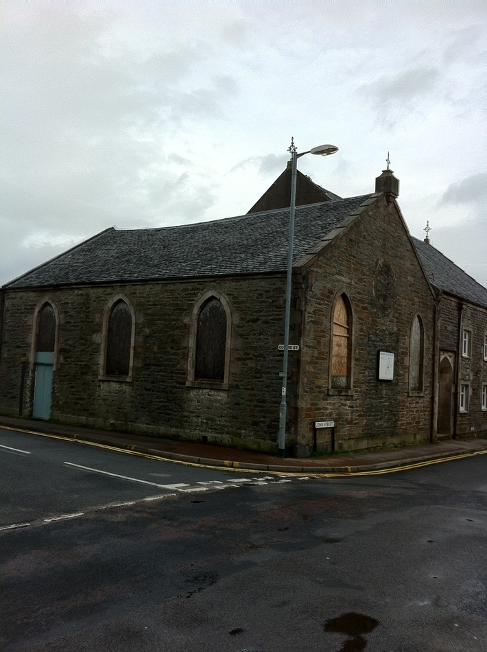 The former Dunoon Baptist Church