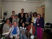 Karen Kipnis & grupo do Projeto Escrevivendo 2011