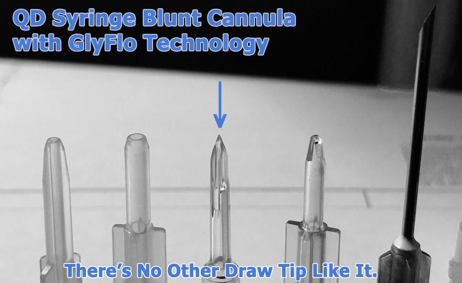 QD Syringe Blunt Cannula Tip