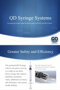QD Syringe - Low Dead Space Syringe with Integrated Cannula