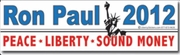 RP 2012 Peace Liberty Sound Money