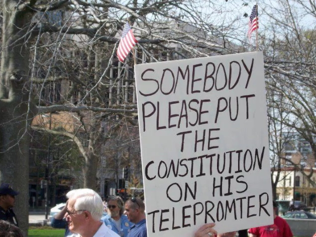 Constitution to Telepromter