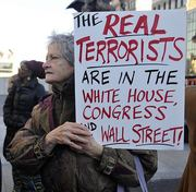 The Real Terrorists Are In The White House Congress And Wall-Street
