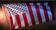 US flag straight