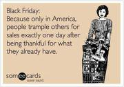 Black Friday Thankfulness