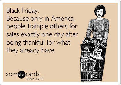 Black Friday Thankfulness