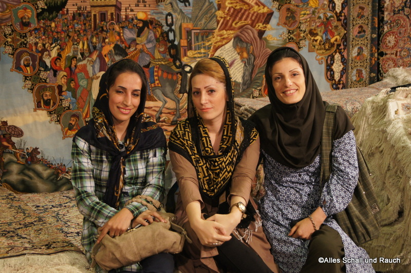 Tehran Carpet Exhibition Iranian Women