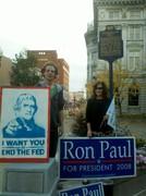 Ron Paul Sign-wave