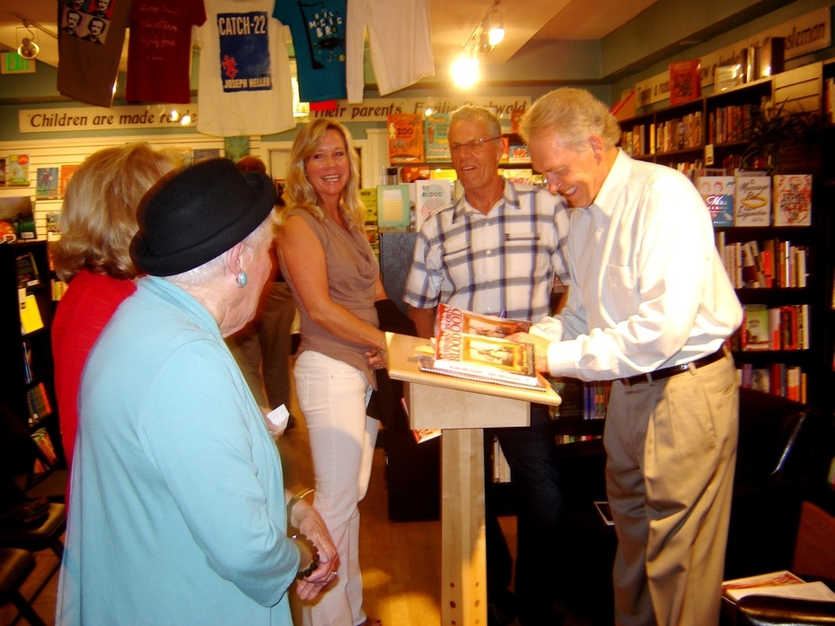 Pages Book Signing