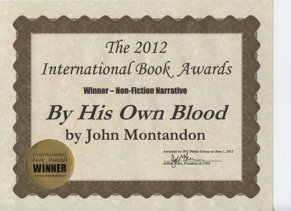 2012 International Book Award