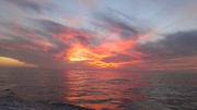 Sunset over the Mexican Pacific