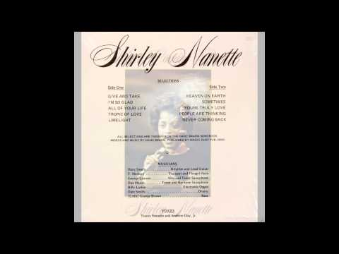Shirley Nanette - All of Your Life