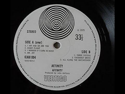 Affinity -Affinity  (Full Album Vertigo Swirl 1970 UK 1st Press With Linda Hoyle £1000)
