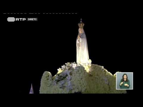 Procesión de las velas  100 aniversario apariciones Virgen de Fátima 1917 2017
