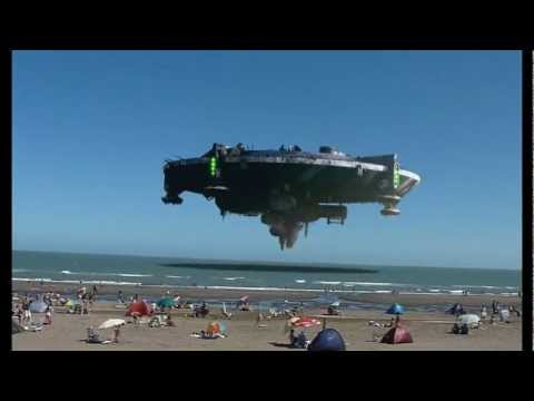 OVNI EN MONTE HERMOSO - AMAZING UFO ARGENTINA