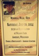 2014 Memorial Walk/Run