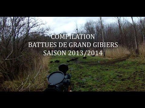 Compilation chasse en battue 2013/2014