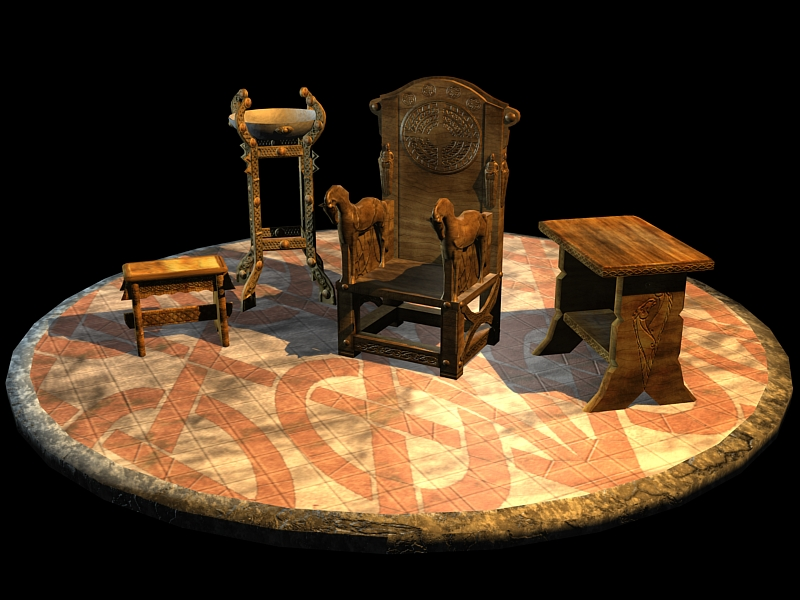 Rohan Throne furniture