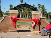 entrada ribbon cutting