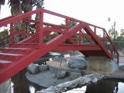 The New Red Bridge at Encanto Park