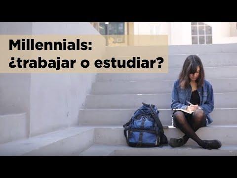 Millennials en América Latina y el Caribe: ¿trabajar o estudiar? Políticas públicas para la juventud