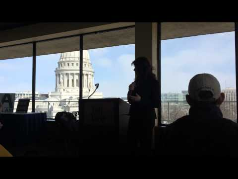 Lt. Governor Kleefisch welcomes A TEAM Wisconsin at Day for Choice! 2015