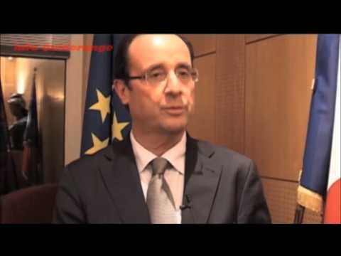 """F. Hollande confirme faire partie de la secte des Franc-Maçonnerie"""""""