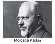 recordando a  Mordejai Kaplan