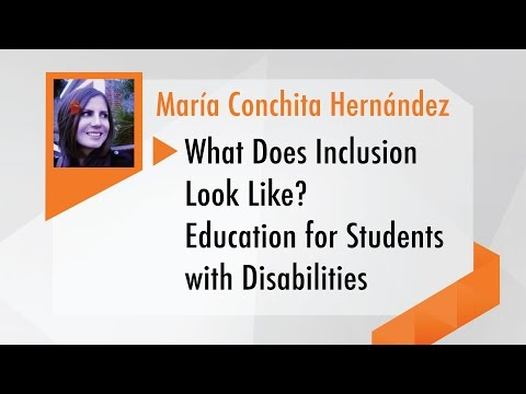 What Does Incluision Look Like? Education for Students with Disabilities