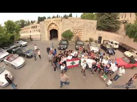 Dji Phantom Lebanon ''Porsche Club Lebanon Ride To Beiteddine 1-6-2014''
