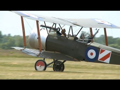 Fighters of World War I - In Action (HD)