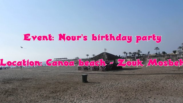 Canoa birthday event!!!