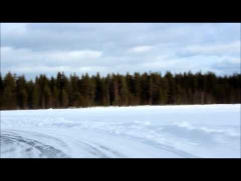 Onboard lap Audi Ice Experience Sweden