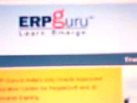 PeopleSoft Training ERP Guru