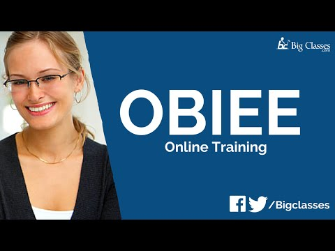 Oracle BI Online Training | OBIEE 11g Architecture Tutorial